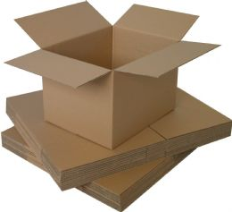 "10 x Strong Cardboard Double Wall Storage Boxes for Moving House 18"" x 12"" x 12"""
